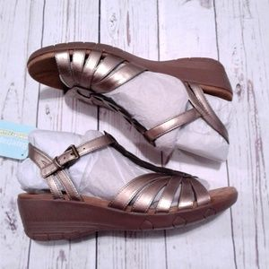 Women's Bare Traps Honora Bronze Sandals Size 9.5